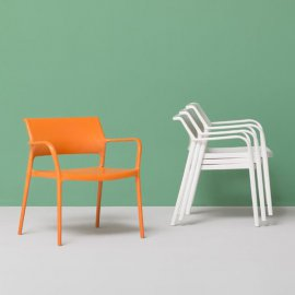 Ara Lounge 316 Lounge Chair by Pedrali