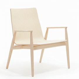 Malmo Relax 299 Lounge Chair by Pedrali