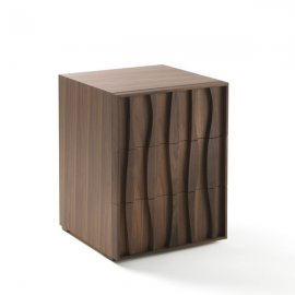 Masai Comodino End Table by Porada