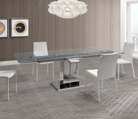 Slim Dining Tables by Whiteline