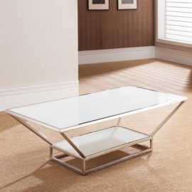 Fluidity R Coffee Table by Whiteline