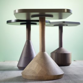 Pezzo End Tables by Miniforms