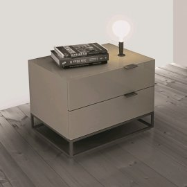 Vizzione Nightstand CB-1406 End Table by Casabianca