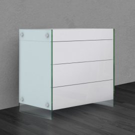 Il Vetro Tall Dresser CB-111 by Casabianca
