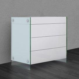 Il Vetro Tall Dresser CB-111 Cabinets by Casabianca
