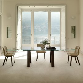 Aron Dining Table by Bontempi