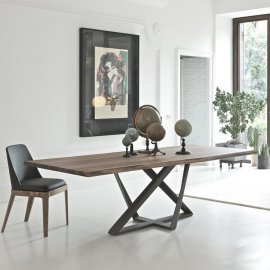 Millennium Dining Table by Bontempi