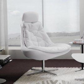 Daya Lounge Chairs by Bontempi
