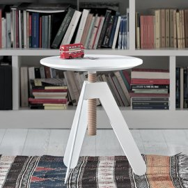 Basalto End Table by Bontempi