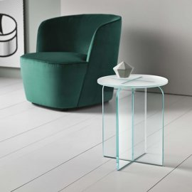 Opalina Sgabello End Table by Tonelli