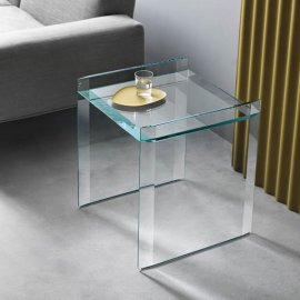 Quiller Side Table End Table by Tonelli