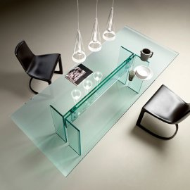 LLT Dining Table by Fiam
