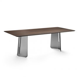 Plie Dining Table by Fiam