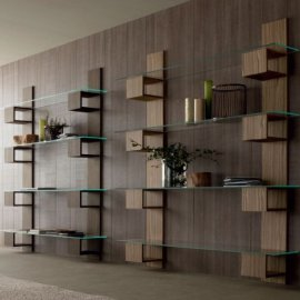 Infinity Bookcase by Compar