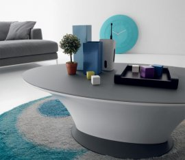 Boat Coffee Table by Compar
