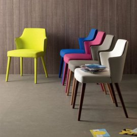 Jolly Armchair Chairs by Compar