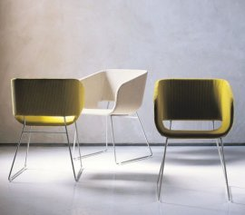 Lili Armchair Chairs by Tonon