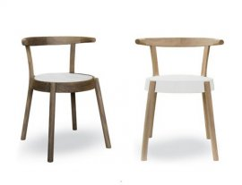 Espresso 156.02 Chairs by Tonon