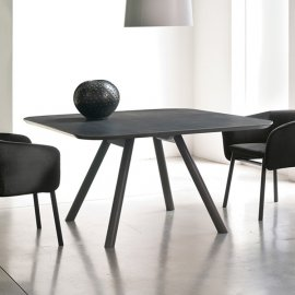 Aky Dining Table by Trabaldo
