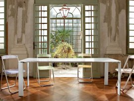Four Desks by Kartell