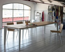 Cruz Dining Table by Bontempi
