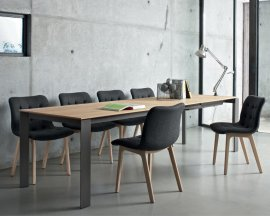 Pascal Dining Table by Bontempi