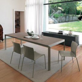 Izac Dining Tables by Bontempi