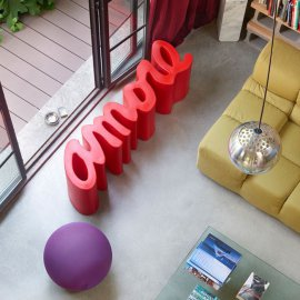Amore Bench by Slide