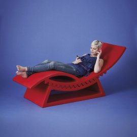 Tic Tac Lounger by Slide
