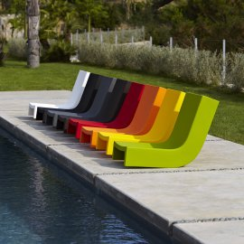 Twist Lounge Chairs by Slide