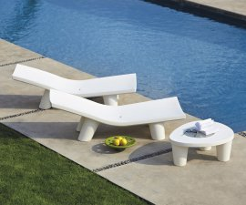 Low Lita Lounge Lounger by Slide