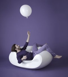 Chubby Lounge Chair by Slide