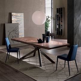 4x4 Fixed T241 Dining Table by Ozzio