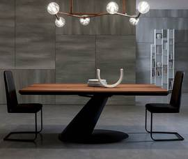 Thor T242 Dining Table by Ozzio