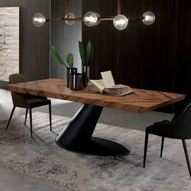 Thor Fisso T243 Dining Table by Ozzio
