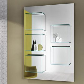 Dazibao Mirror Bookcase by Tonelli