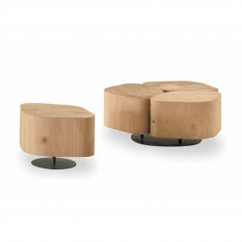 Tobi 3 End Table by Riva 1920