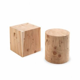 Logos End Tables by Riva 1920