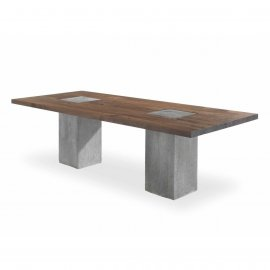 Boss Executive Concrete  Dining Tables by Riva 1920