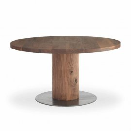 Boss Executive Round Dining Table by Riva 1920