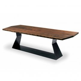 Bedrock Plank A Dining Table by Riva 1920