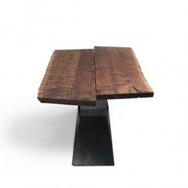 Bedrock Plank B Dining Tables by Riva 1920