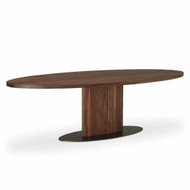 Parsifal Ovale Dining Table by Riva 1920