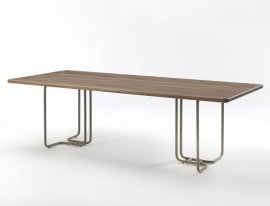 Tubular Dining Table by Riva 1920