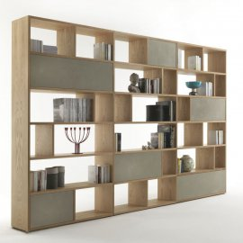 Password Bookcase by Riva 1920