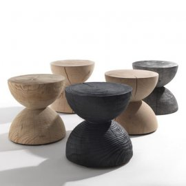 Clessidra Stool by Riva 1920