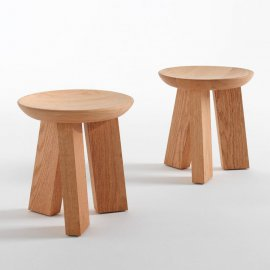 Ludo Stool by Riva 1920