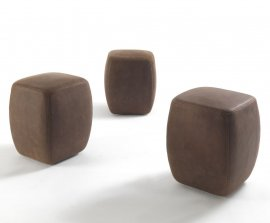Betty Pouf & Betty Pouf Small Stool by Riva 1920