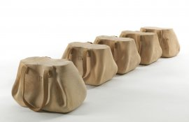 Mondana Stool by Riva 1920
