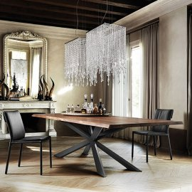 Spyder Wood Dining Table Dining Tables by Cattelan Italia
